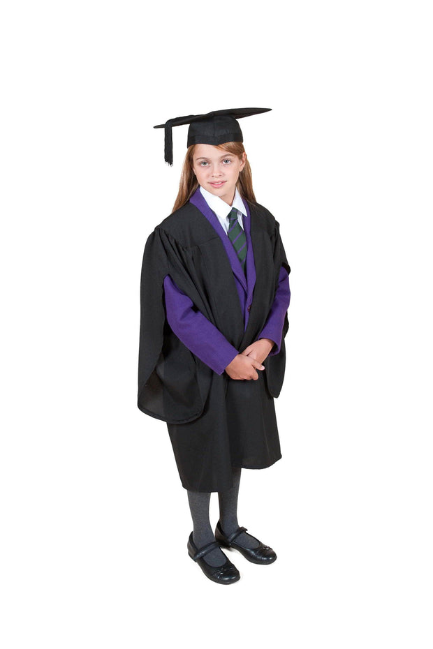Traditional Primary School Graduation Gown & Cap