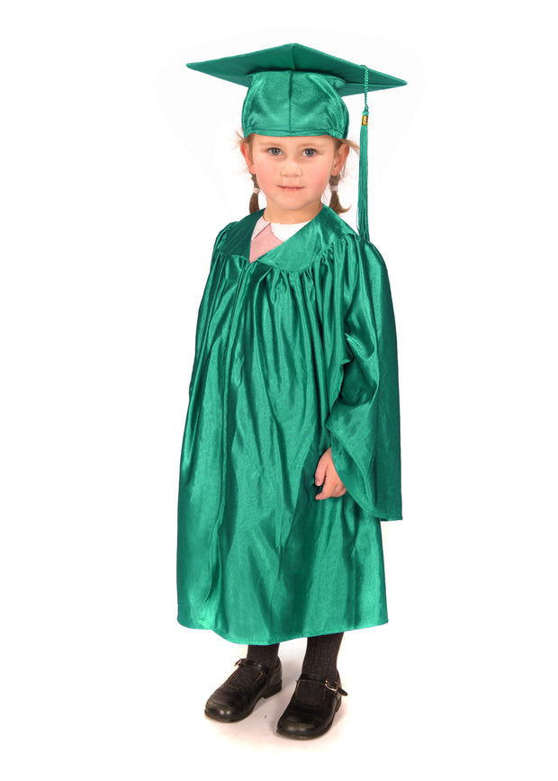 Shiny Nursery Graduation Gown and Cap
