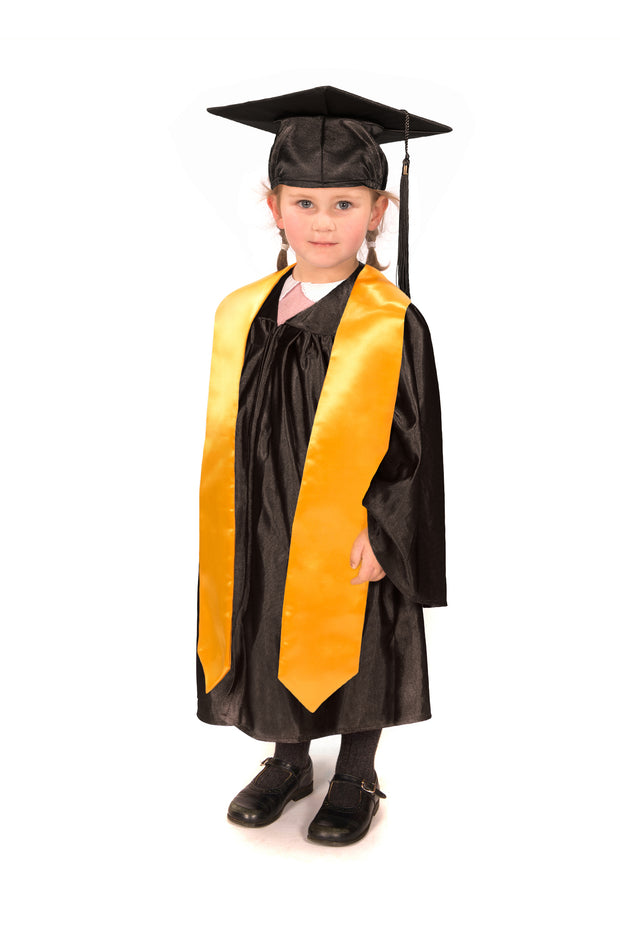 Shiny Nursery Graduation Gown, Cap & Stole