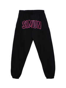 BLACK SIMUN SWEATPANTS