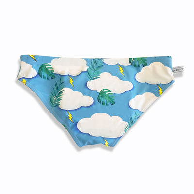 Cumulus clouds brief swimwear