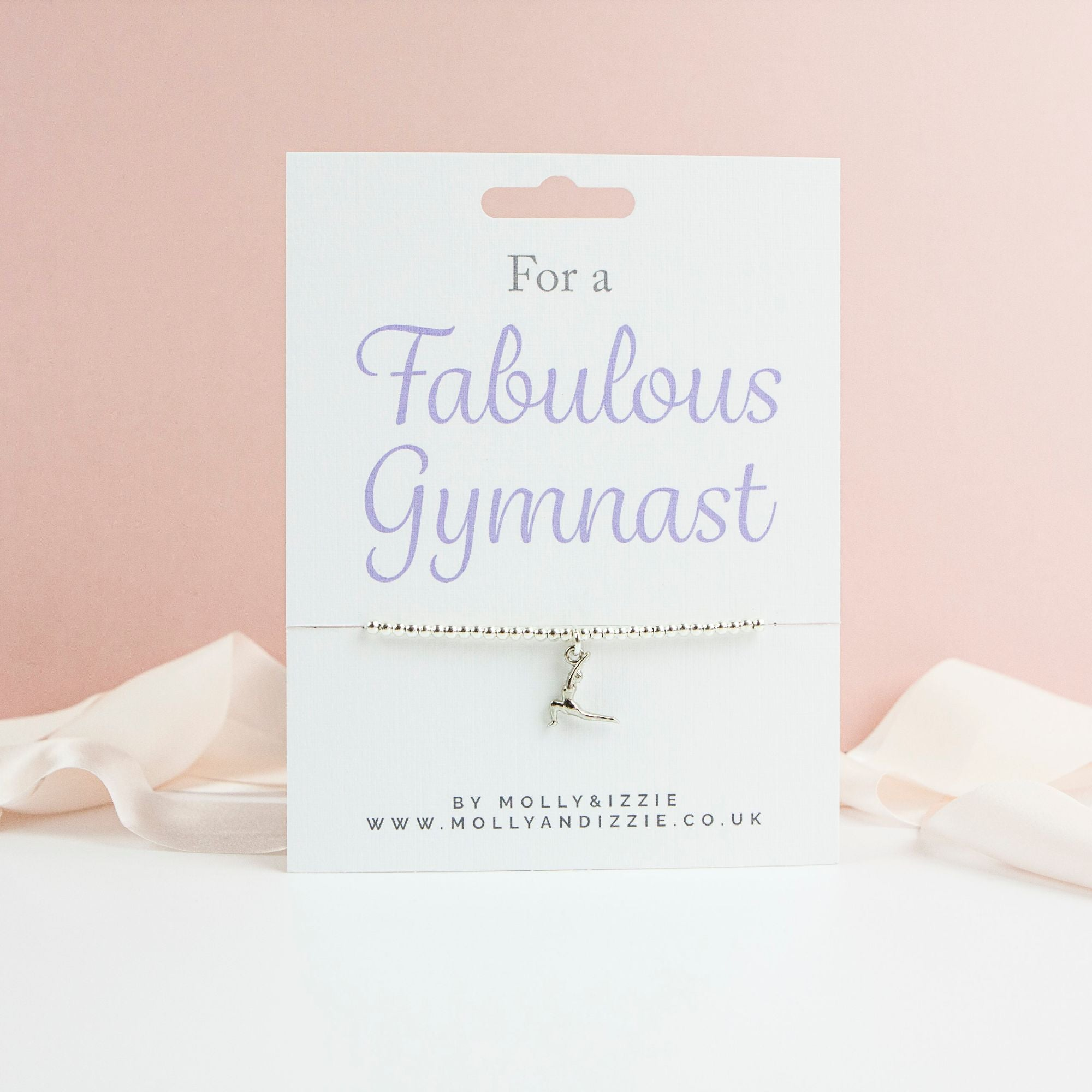 Gymnast Beaded Bracelet-Accessories-Enpoint Dancewear