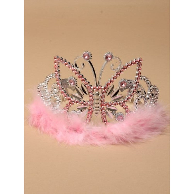 Fluffy Butterfly Tiara