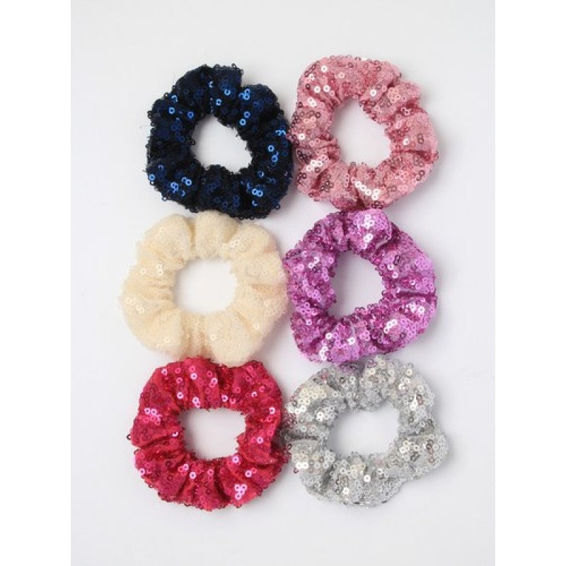 Small Sequin Scrunchie