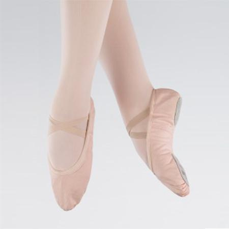 1st Position Canvas Split Sole ballet Shoes-Footwear-Enpoint Dancewear