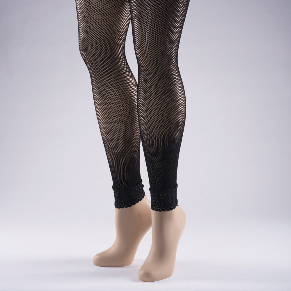 Footless Fishnet Dance Tights-Accessories-Enpoint Dancewear