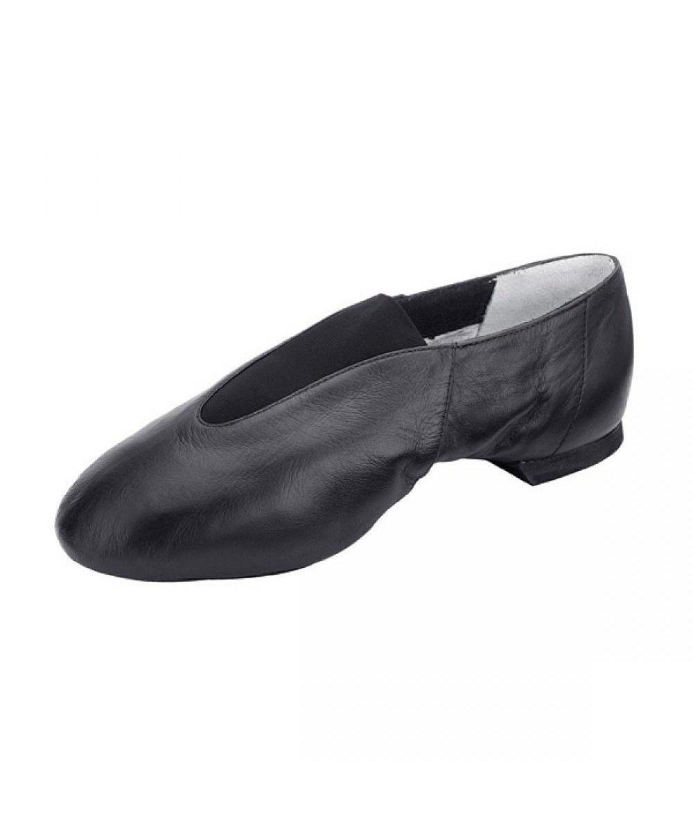 Bloch Pure Split Sole Slip On Jazz Shoe-Footwear-Enpoint Dancewear