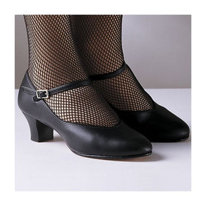 Capezio footlight character shoes