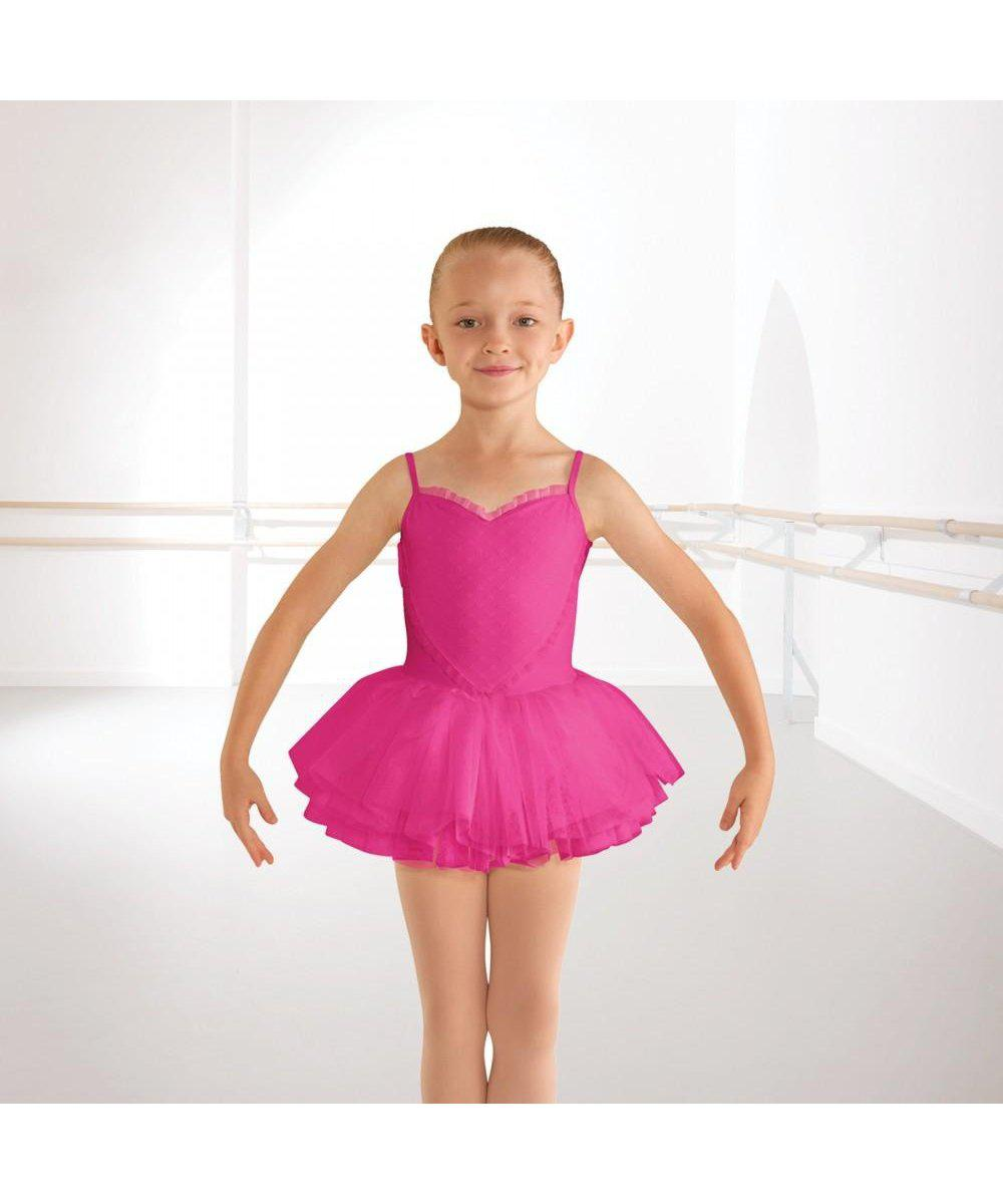 Bloch Heart Mesh Tutu-Leotards & Skirts-Enpoint Dancewear