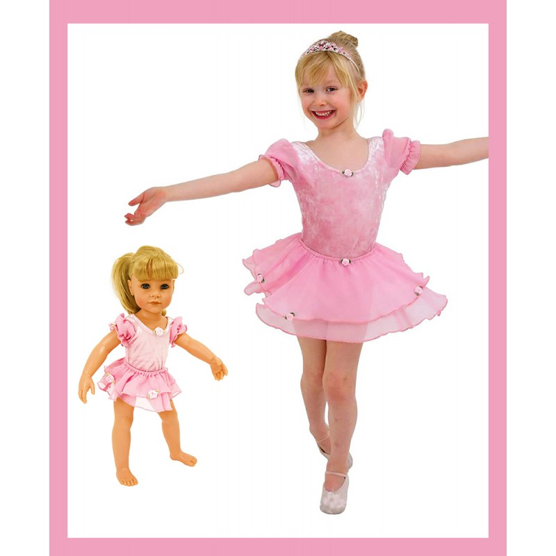 Frilly Lily Rose Two Piece Ballet Outfit