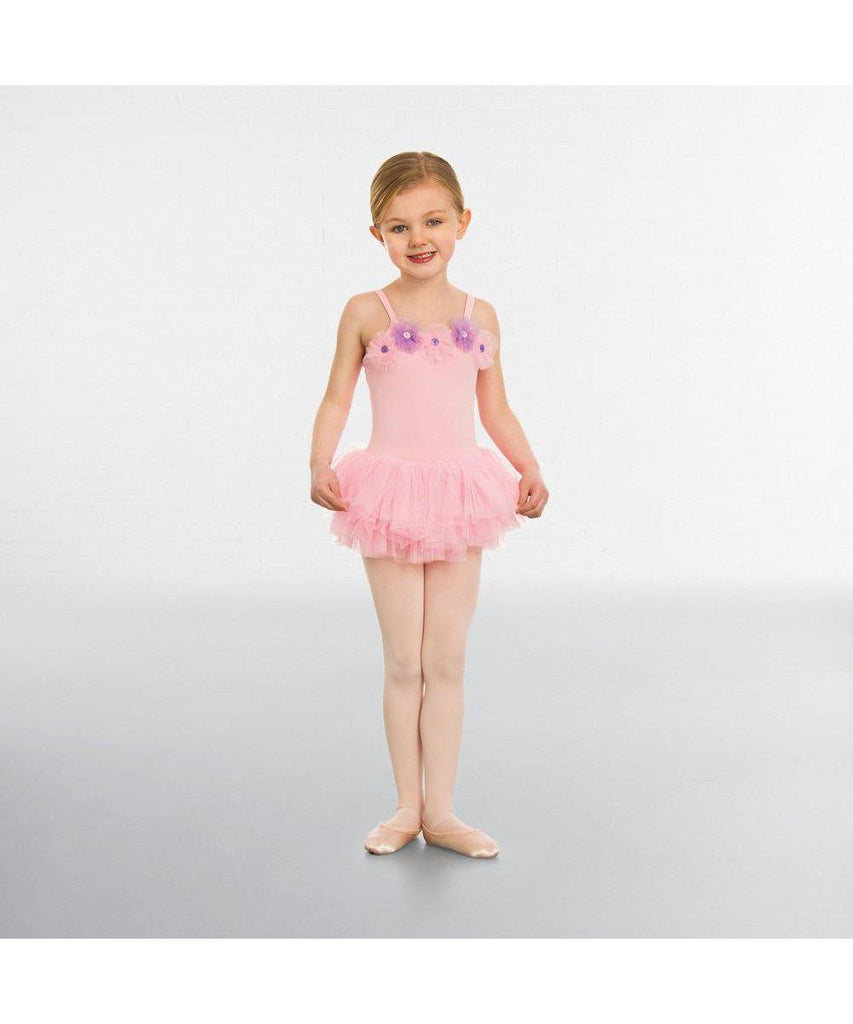 Flower Button Tutu-Leotards & Skirts-Enpoint Dancewear