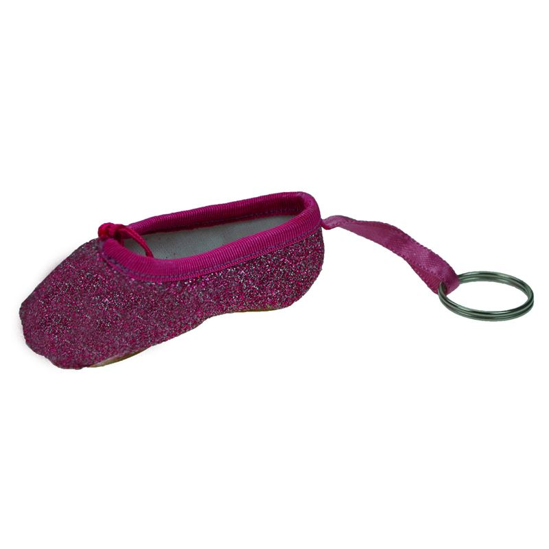 So Danca Glitter Point Shoe Keyring-Accessories-Enpoint Dancewear