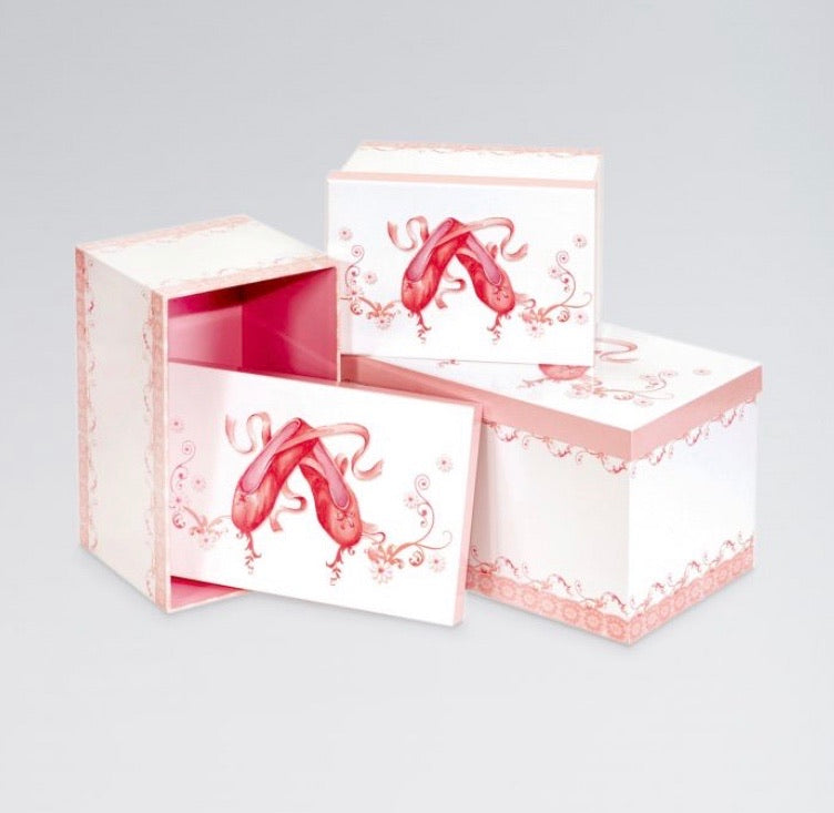 Ballet Shoe Design Storage Boxes