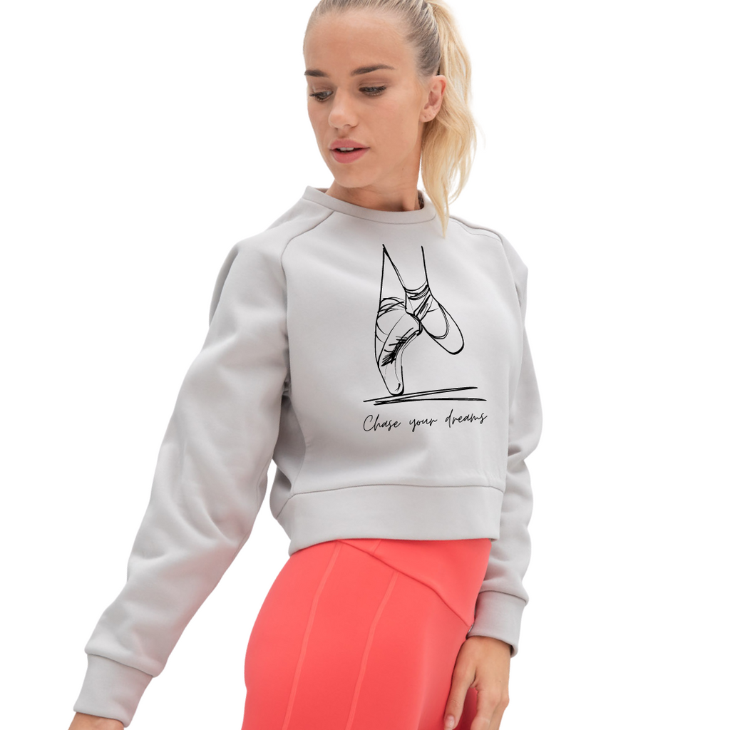 Chase Your Dreams Cropped Sweater