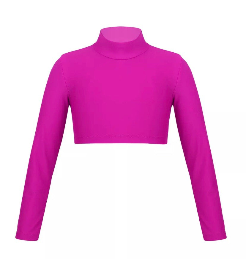 Basic Long Sleeved Crop Top