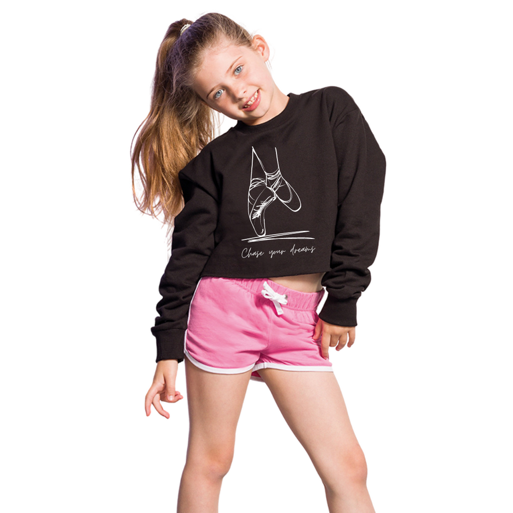 Chase Your Dreams Junior Cropped Sweater