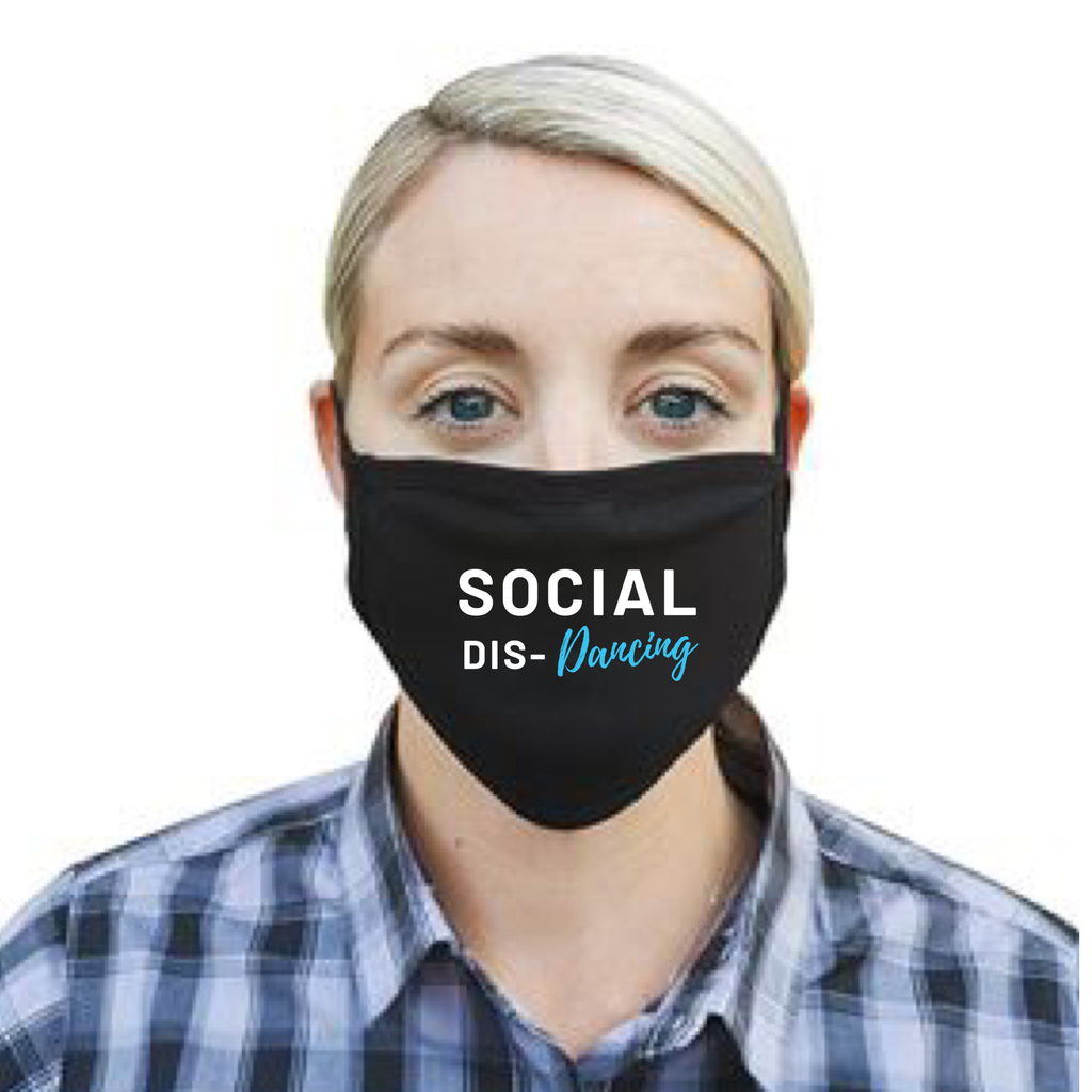 Social Dis-dancing Face Mask