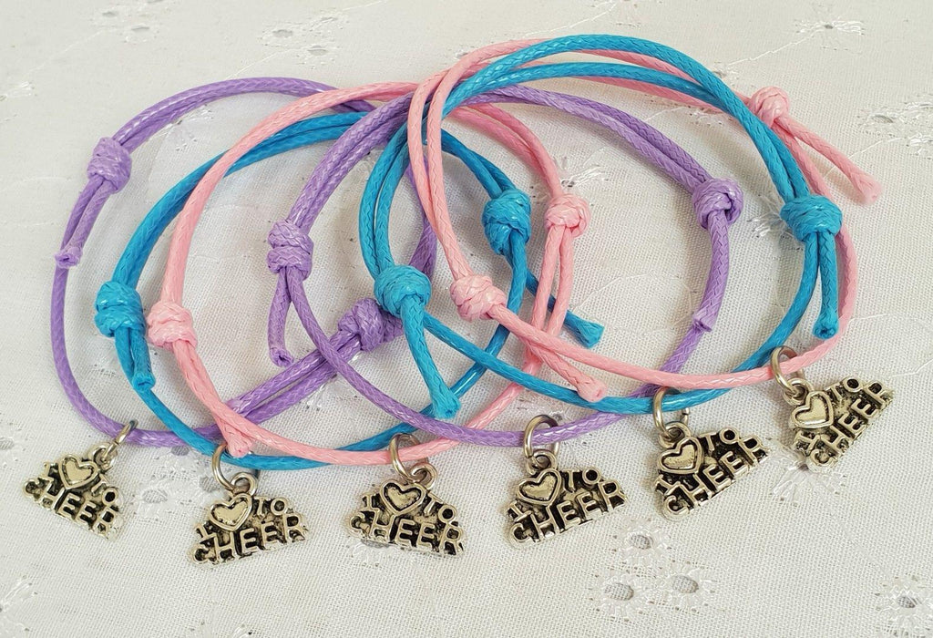 I Love To Cheer Bracelet-Accessories-Enpoint Dancewear