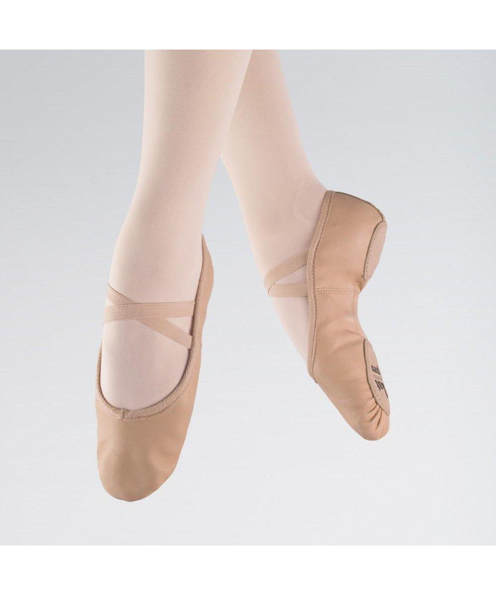 1st Position Leather Split Sole Ballet Shoes-Footwear-Enpoint Dancewear