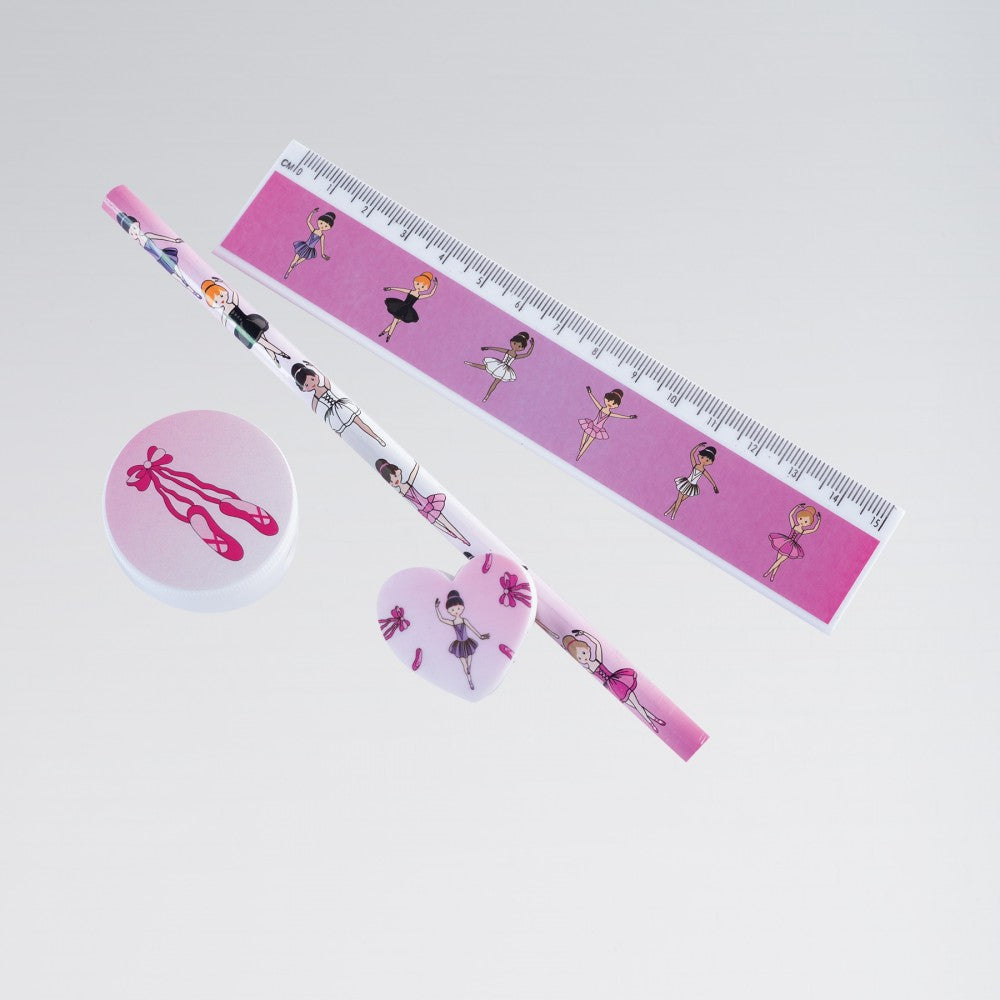 Ballerina Stationery Set-Accessories-Enpoint Dancewear