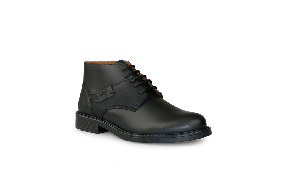Zapato Niño Boston - Napa Negro