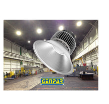 Load image into Gallery viewer, GENPAR 200-W HIGH BAY LED (4 PK) Lighting COMMERCIAL Warehouse Hanging Industrial Grade Lamp Reflector 600W HPS HID EQUIVALENT 5500K 20000lm IP44