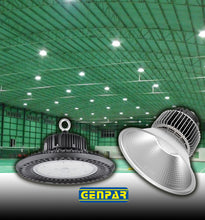 Load image into Gallery viewer, GENPAR UFO LED High Bay Light 800W HPS/MH Equivalent 26000LM lumens Daylight White 6000-6500K IP65 Waterproof Warehouse Lighting Fixture Commercial Lighting Factory Shop Industrial (40-PK)