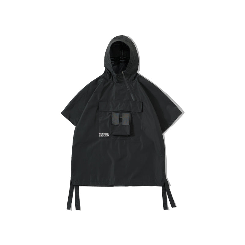 ENSHADOWER waterproof short-sleeved windbreaker - The Crepuscule