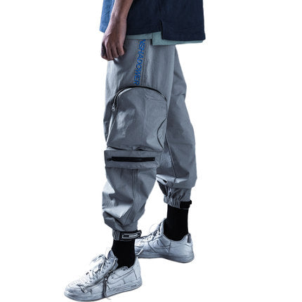 ENSHADOWER 18SS three-dimensional pocket velcro pants - The Crepuscule