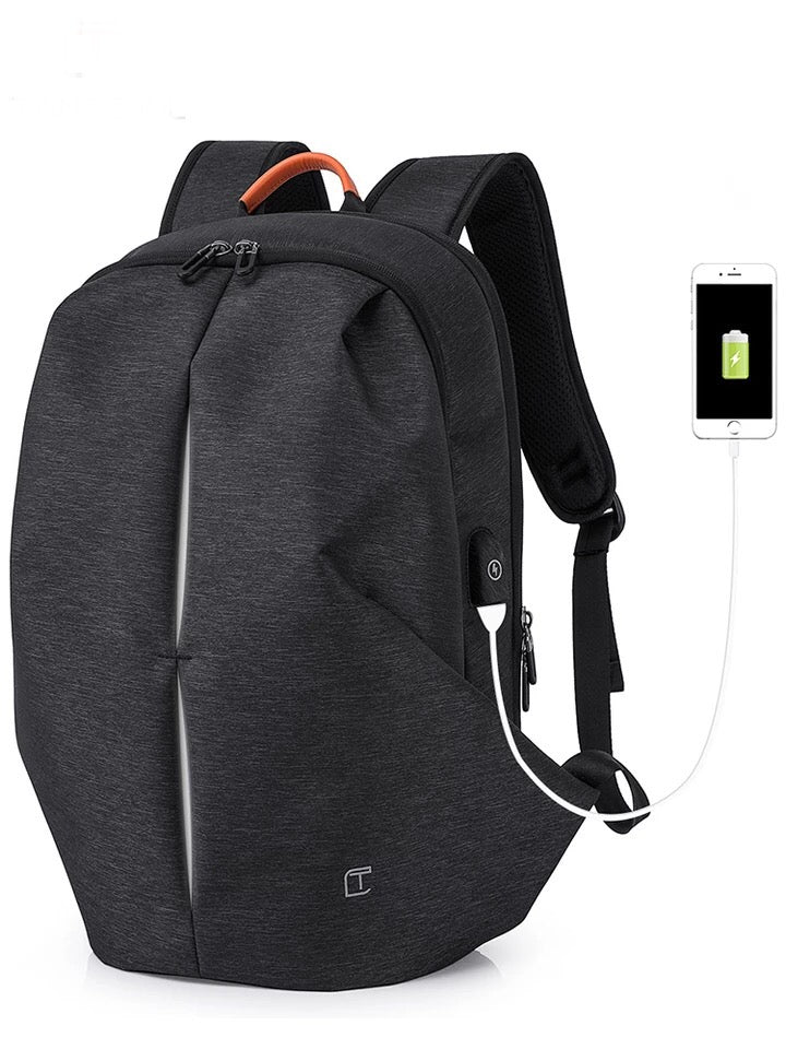 Reflective + Charging Backpack - The Crepuscule