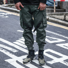 Load image into Gallery viewer, CHRROTA Strapped Cargo Joggers - The Crepuscule