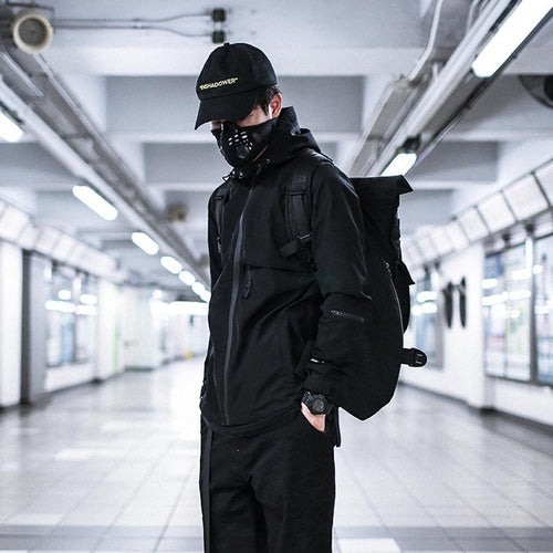 ENSHADOWER waterproof reflective  windbreaker - The Crepuscule
