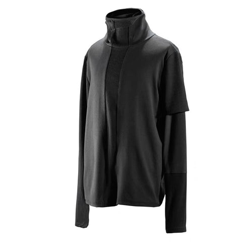 RL Irregural High Collar Sweater - The Crepuscule