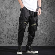 Load image into Gallery viewer, MOOTONAL Fonctional Jogger w/army green straps - The Crepuscule