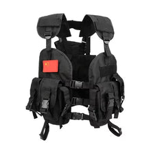 Load image into Gallery viewer, Multi-Pocket Tactical vest - The Crepuscule
