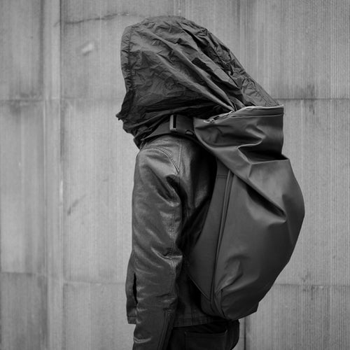 Fonctional integrated Hood Backpack - The Crepuscule