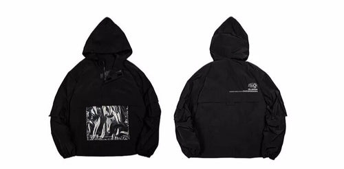 KILLWINNER Clear PVC pocket Jacket - The Crepuscule