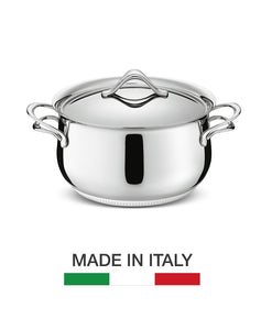 Premium Italian cookware in stainless steel from Lagostina Italy.