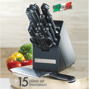 Lagostina 15pc MOV Knife Set