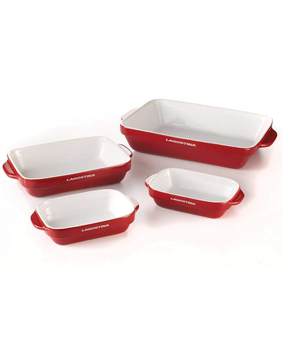Lagostina 4pc Bakeware Set