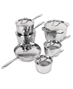 Lagostina Stainless Steel 12-piece Cookware set