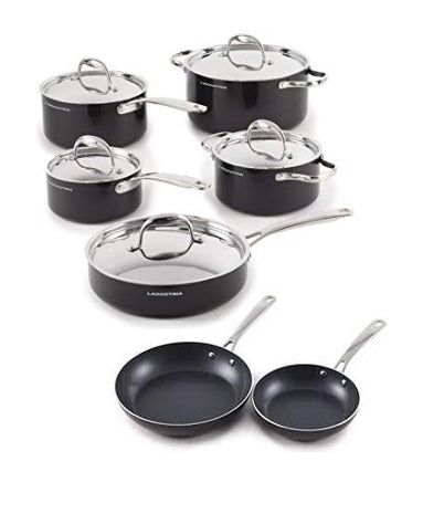 Lagostina Non-Stick 12 piece Cookware set