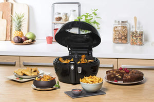 T-fal FZ760850 ActiFry Genius 1.2 Kg Air Fryer, Automatically Stirs, Black