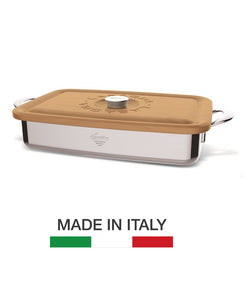 Lagostina Heritage Collection Lasagne Cooking Dish - Made in Italy