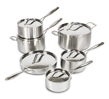 Load image into Gallery viewer, Lagostina 5Ply Clad 12 pc cookware set