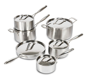 Lagostina 5Ply Clad 12 pc cookware set
