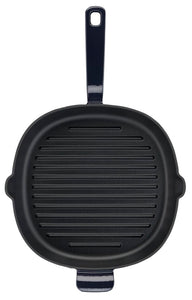 Lagostina Tradizione Enamelled 26cm Cast Iron Grill Pan