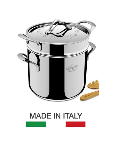 Lagostina Heritage Collection Pastaiola Pasta Pot