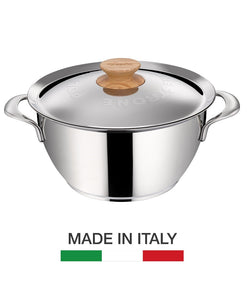 Lagostina Heritage Collection Polenta Stew Pot - Made in Italy