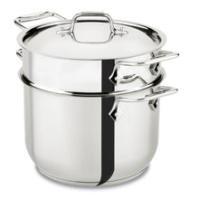 Load image into Gallery viewer, All-Clad E414S664 Pasta set 6QT+Insert